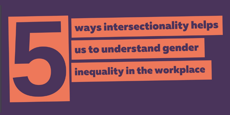 Download five ways intersectionality helps us to understand gender inequality in the workplace