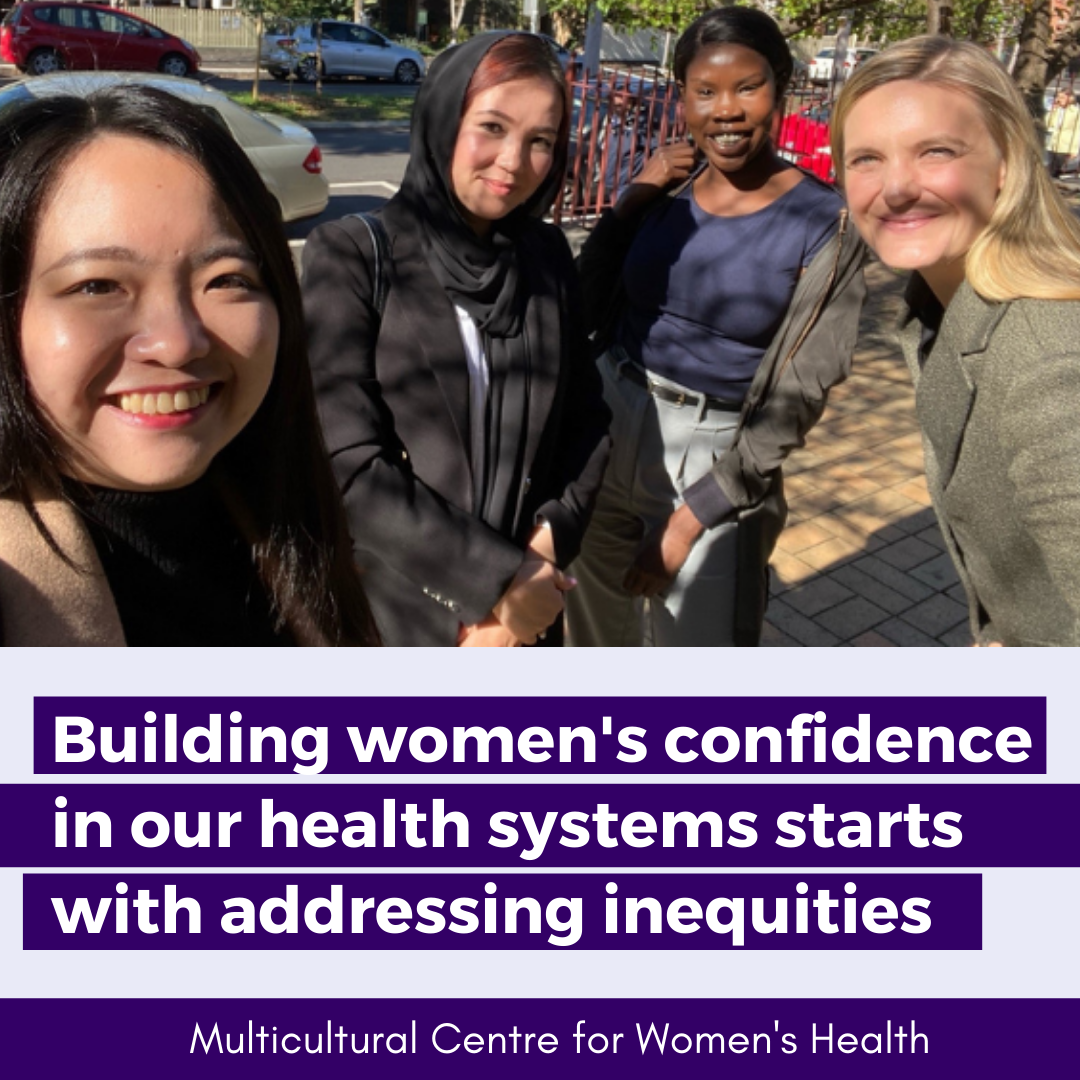Building women's confidence in our health systems starts with addressing inequities