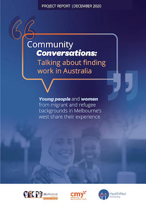 cover of the Community Conversations report